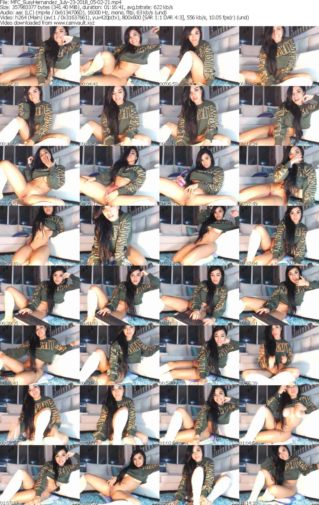 Video preview for model SusyHernandez