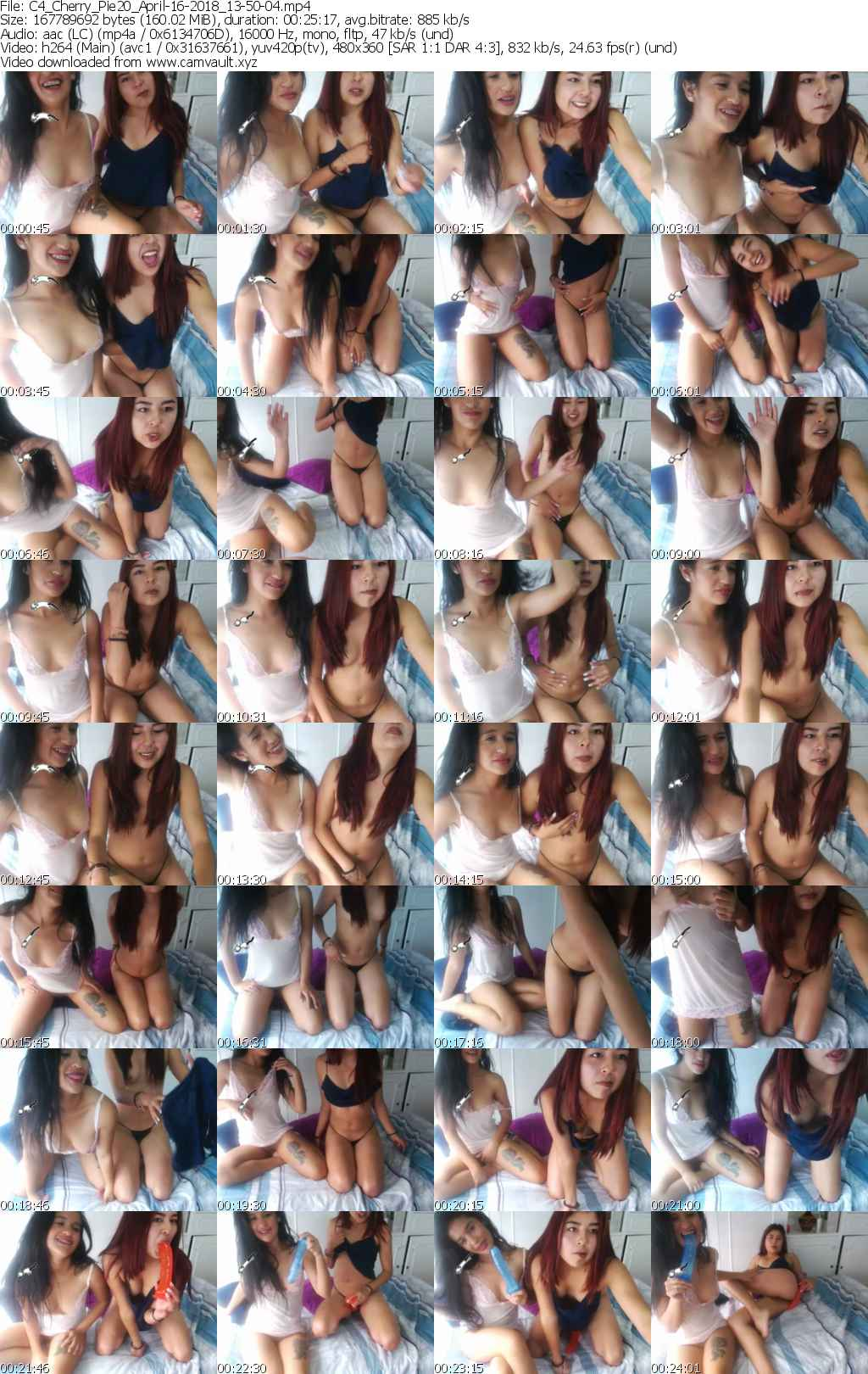 Video preview for model Cherry_Pie20