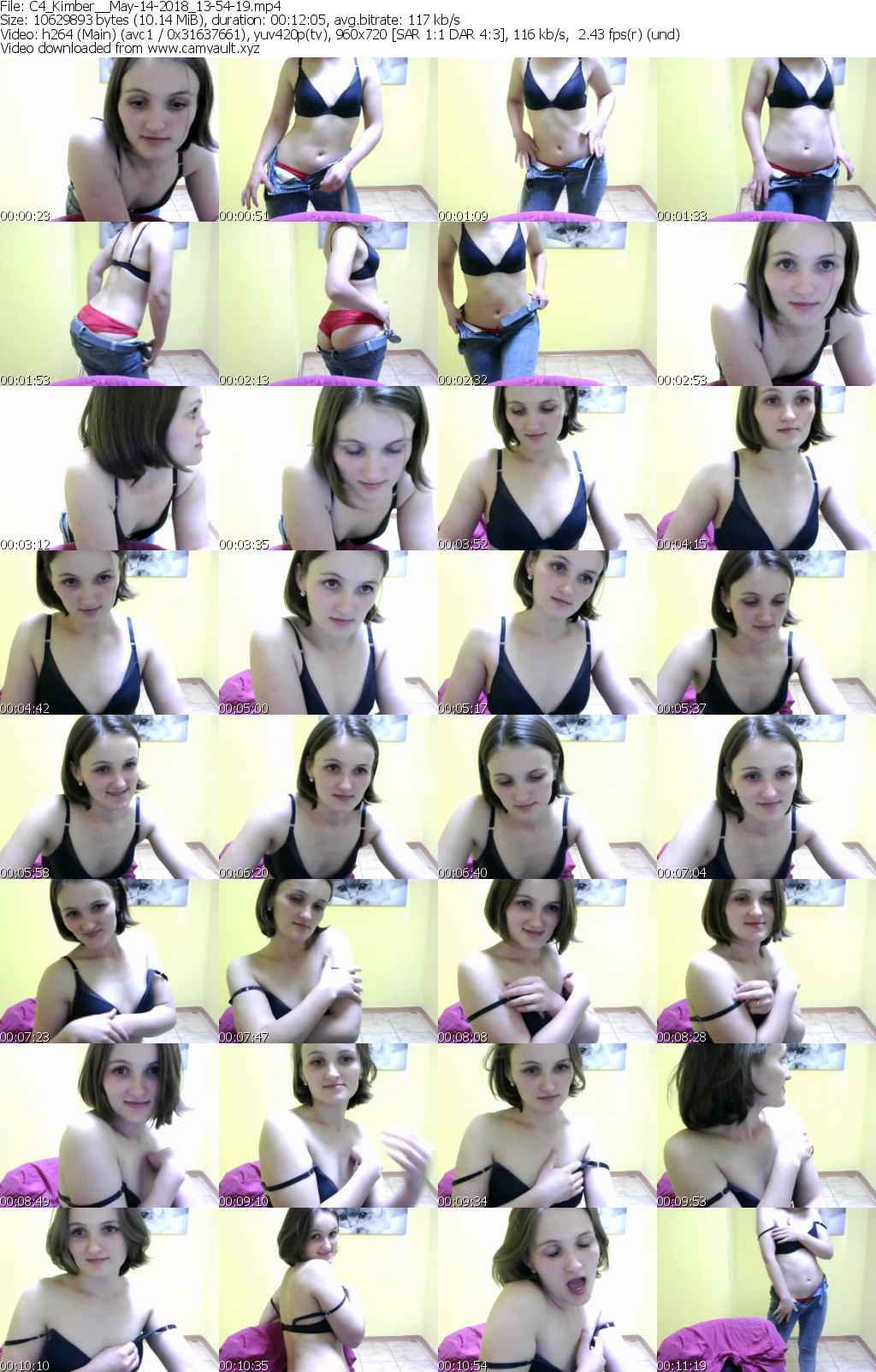 Video preview for model Kimber_
