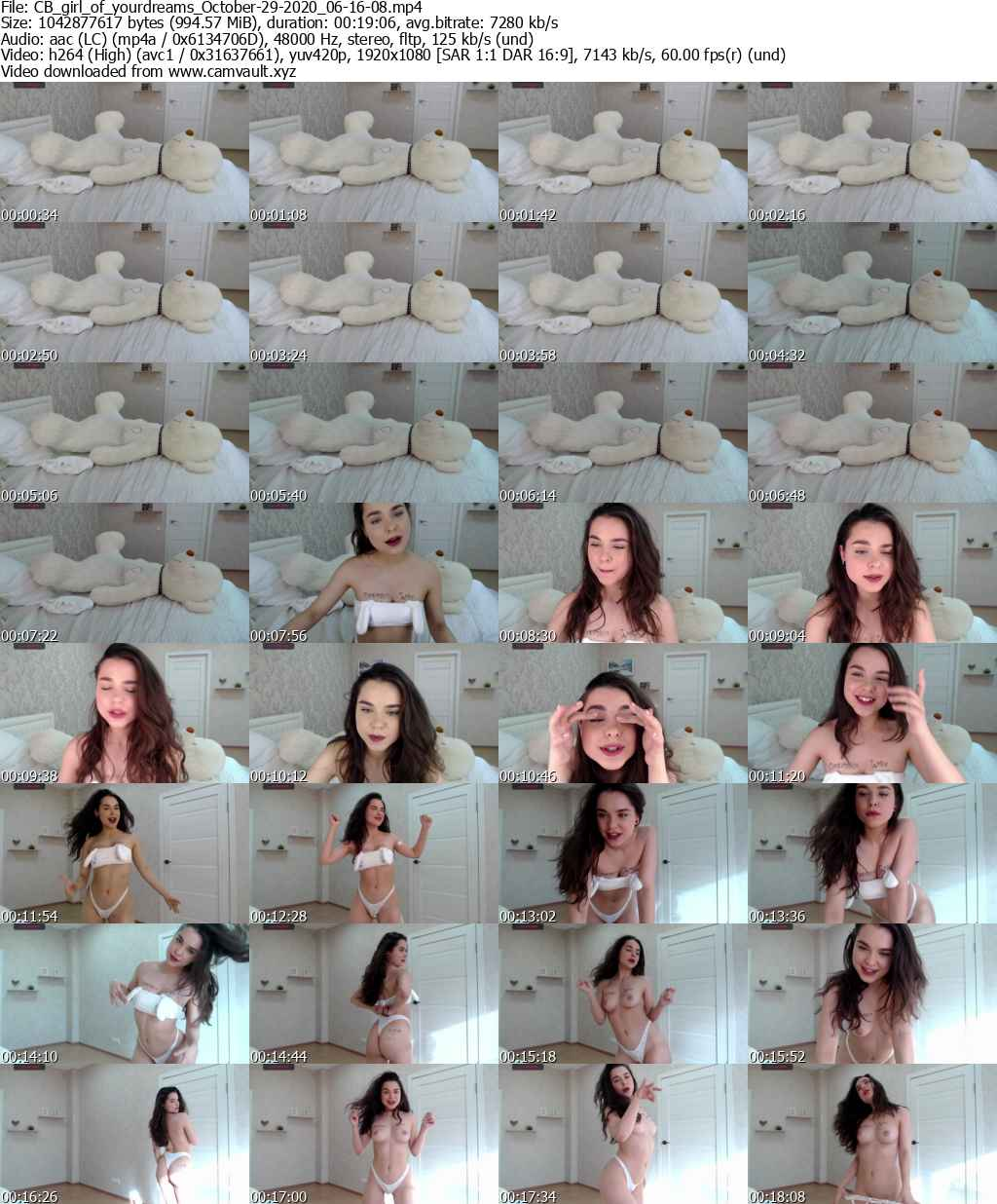 Video preview for model girl_of_yourdreams