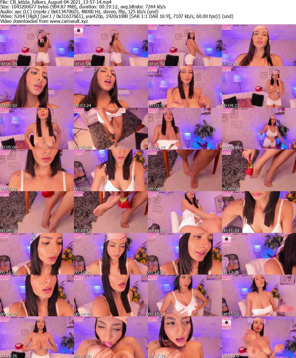 Video preview for model letizia_fulkers