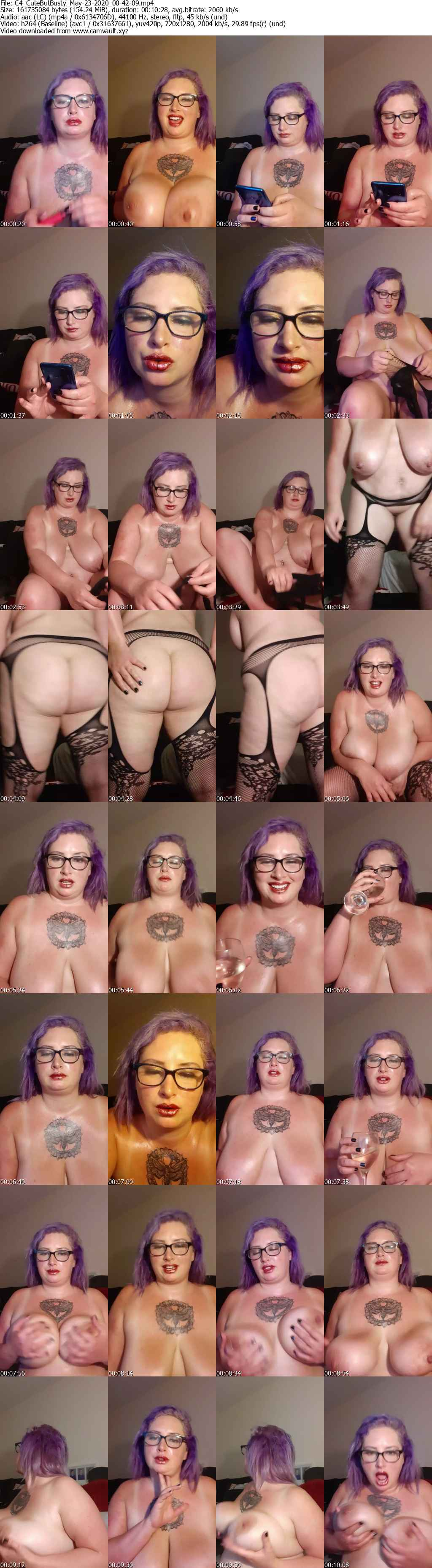 Video preview for model CuteButBusty