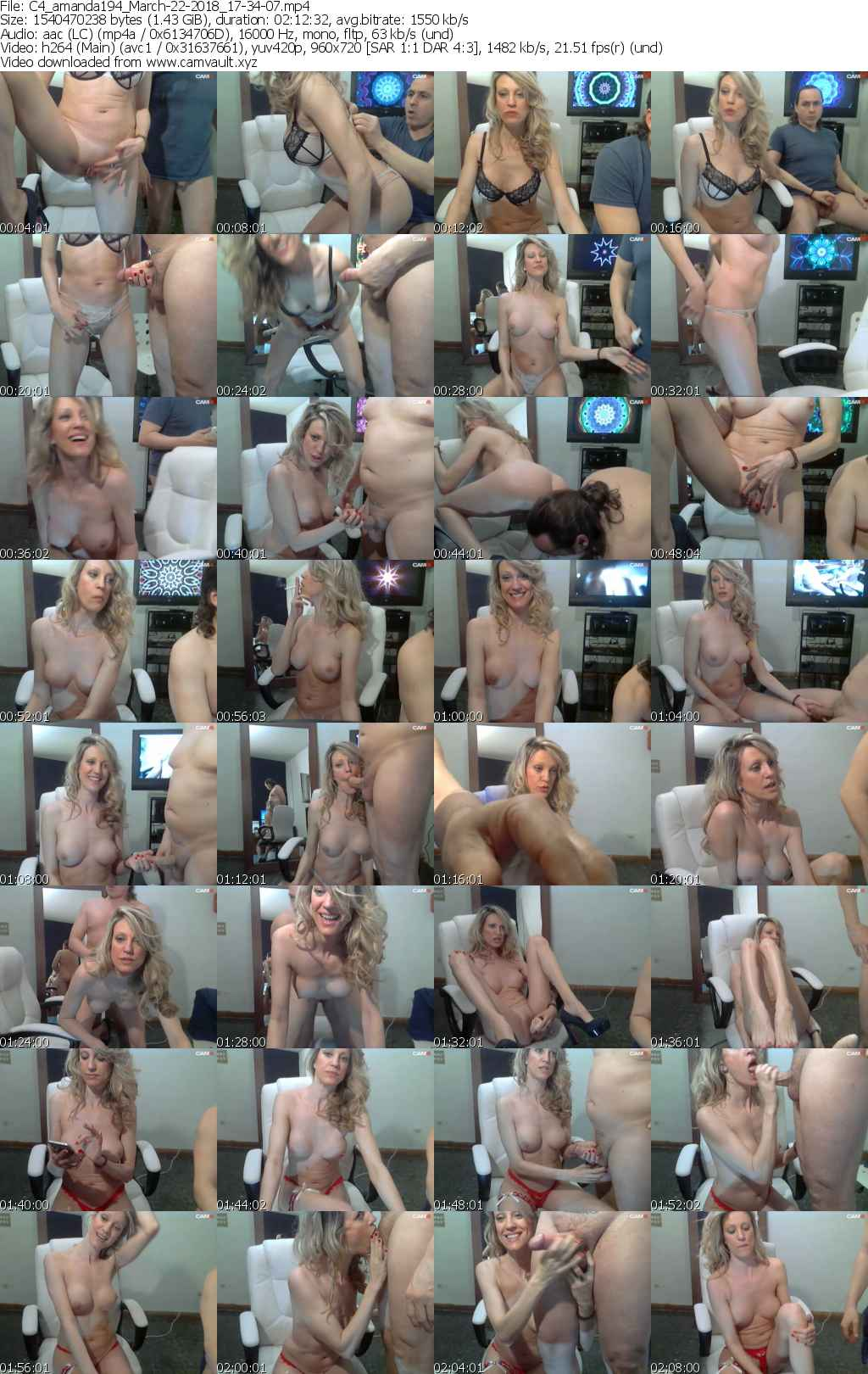 Video preview for model amanda194