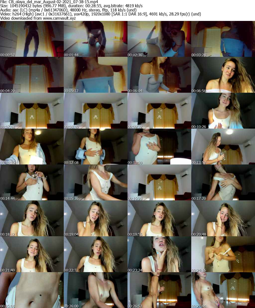 Video preview for model olaya_del_mar