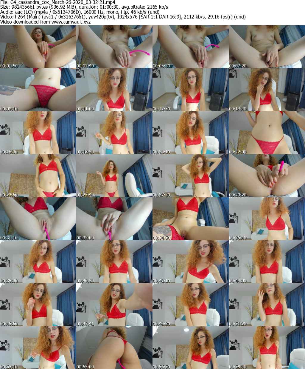 Video preview for model cassandra_cox