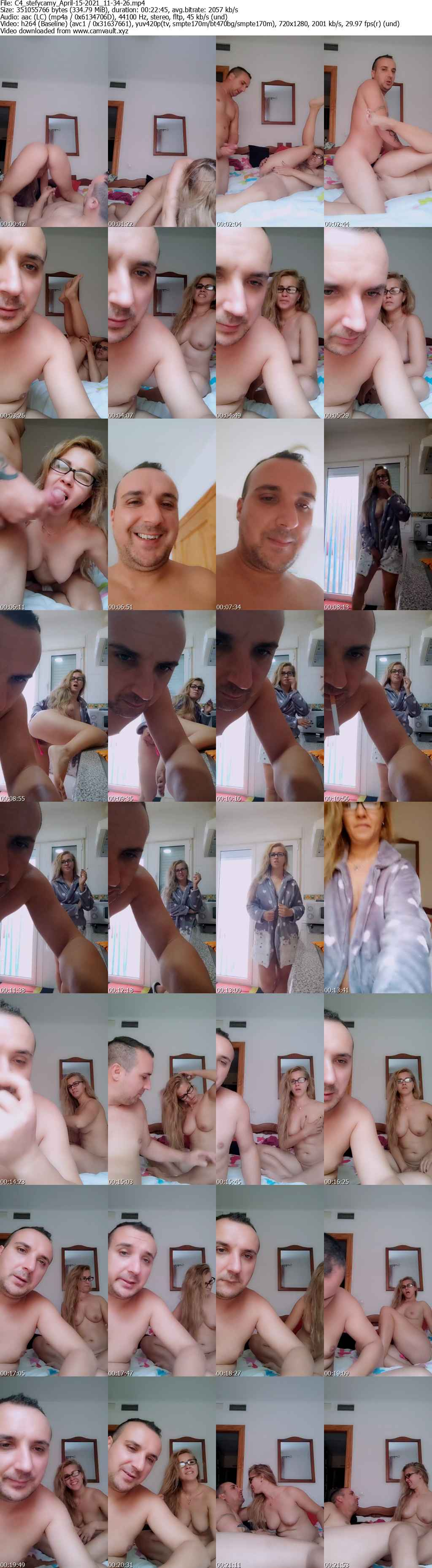 Video preview for model stefycamy
