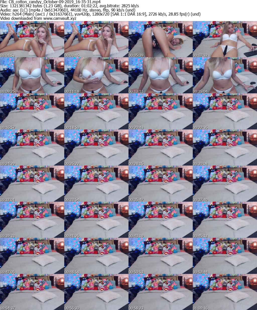 Video preview for model cotton_candyy