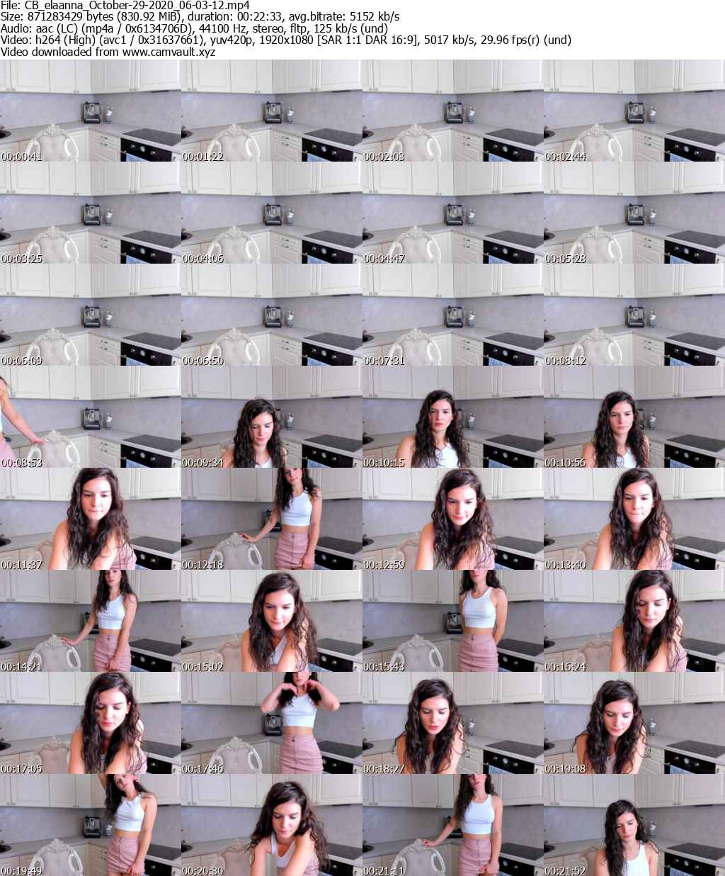Video preview for model elaanna