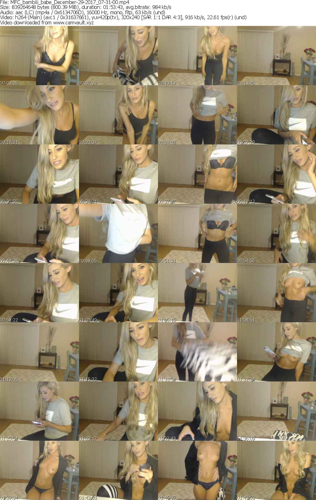 Video preview for model bambiii_babe